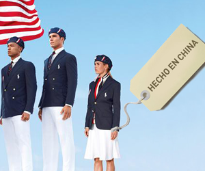 d4c77ca91 UU. cuando se conoció que los uniformes que utilizarán los atletas  estadounidenses en la ceremonia inaugural en los Juegos Olímpicos de  Londres 2012 fueron ...