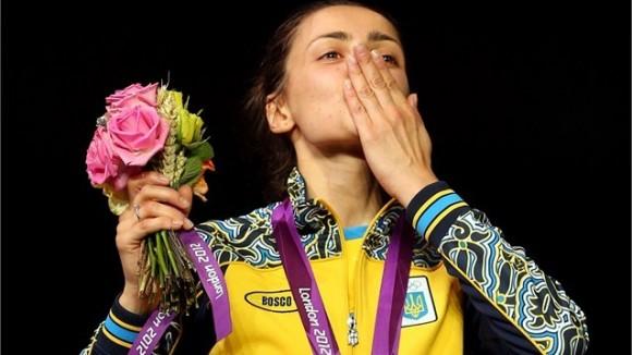 Yana Shemyakina ganó para Ucrania su primer Oro olímpico en la historia en la modalidad de Espada en el torneo de Esgrima de Londres 2012