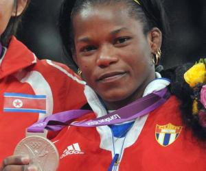Judoca cubana Yanet Bermoy plata en Juegos Olímpicos de Londres