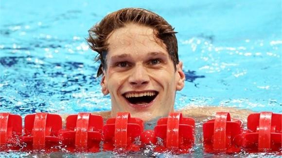 El francés Yannick Agnel se llevó su segundo oro olímpico al triunfar en los 200 m estilo libre de la natación masculina