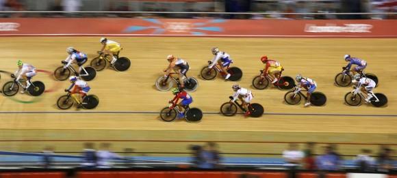 Competidoras de ciclismo. Foto: Reuters