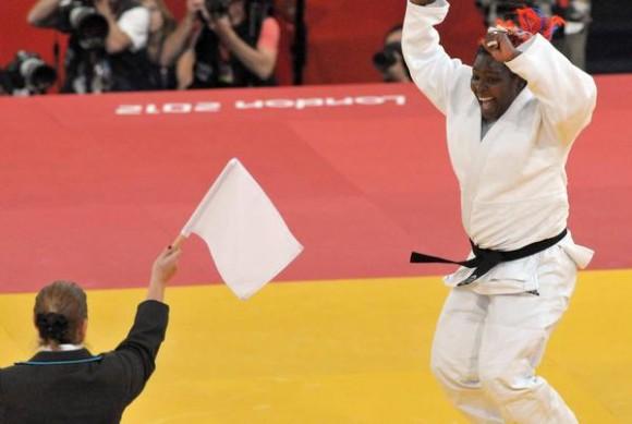 La judoca cubana Idalys Ortiz. Foto: Marcelino Hernández/ AIN