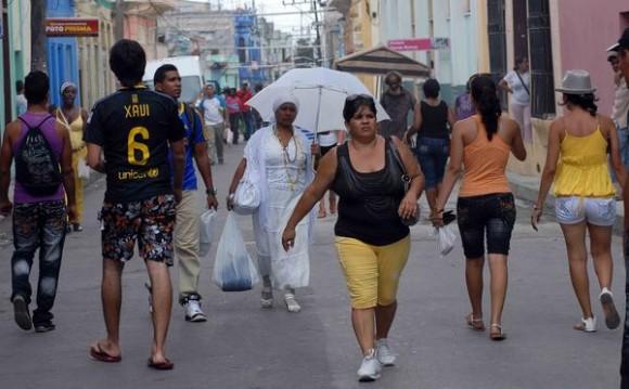 El territorio de la provincia de Santiago de Cuba está preparado para recibir los posibles embates de la tormenta tropical Isaac, el 24 de agosto de 2012. AIN FOTO/Miguel RUBIERA JUSTIZ
