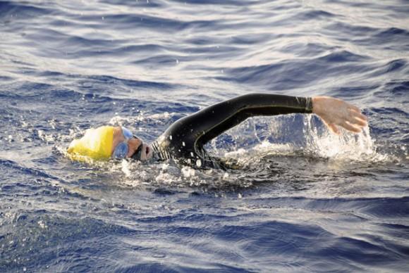 Diana Nyad: 48 horas nadando en Estrecho de la Florida