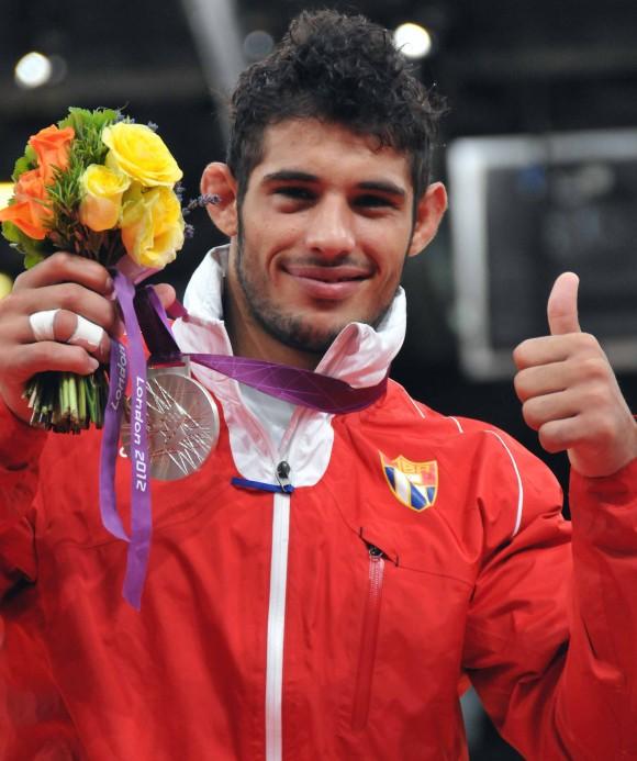 Asley González, subcampeón olímpico de judo en la división de 90 kilogramos.