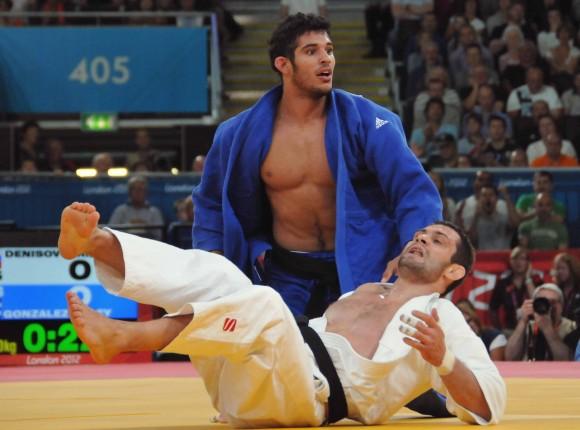 Judoca Asley González. Foto: Ricardo López Hevia.