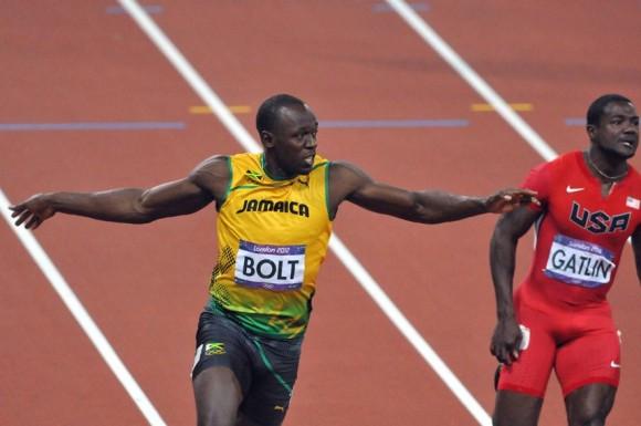 Usain Bolt demostró que es el mejor sprinter del planeta y rompió el record olímpico con un tiempazo de 9.63 segundos que le dio la medalla de oro del hectómetro en Londres 2012. Foto: Ricardo López Hevia.