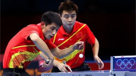Con la victoria de su equipo masculino China se llevó todos los oros del Tenis de Mesa por segunda ocasión en Juegos Olímpicos