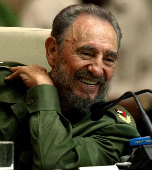 Fidel en el Palacio de las Convenciones. Foto: Ismael Francisco/Cubadebate.