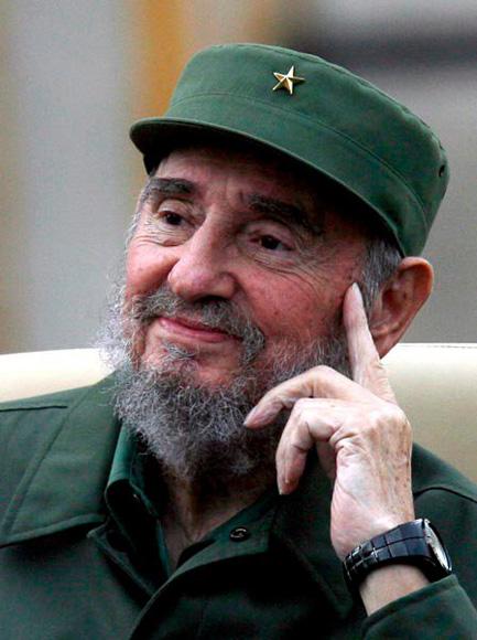 Fidel en acto de los CDR. Foto: Ismael Francisco/Cubadebate.