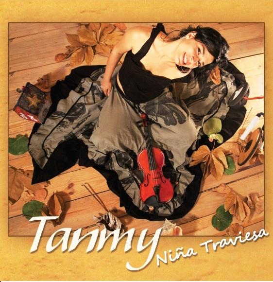 """Cubierta del disco """"Tanmy, niña traviesa""""."""
