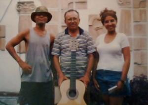 Rey Ugarte, Dioscórides Borges y Rosa Matos. Foto: Marta Valdes