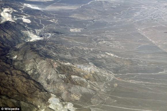 E Desierto de Mojave, en Arizona, Estados Unidos.
