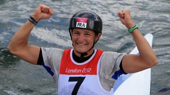 La francesa Emilie Fer ganó el título en el k1 del kayak-slalom femenino
