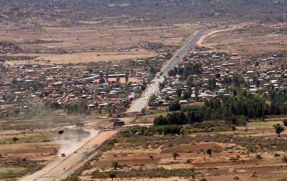 Jijiga, poblado etiope fronterizo con Somalia, donde se desarrollaron las batallas decisivas de la guerra. Foto: Ismael Francisco/Cubadebate.
