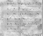 Partitura de La Bayamesa, Himno Nacional de Cuba