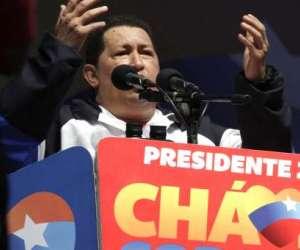 Hugo Chávez en Táchira