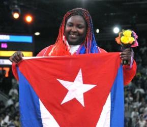 Idalis Ortiz encabeza selección cubana de judo a Copa Mundial en Brasil