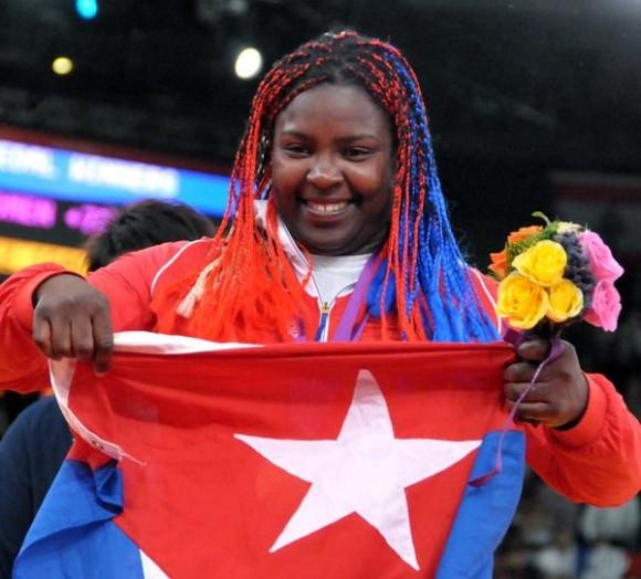 Medalla de plata para la cubana Idalys Ortiz en Judo olímpico