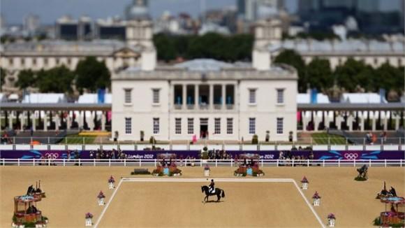 El escenario de la equitación olímpica