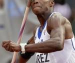 Leonel Suárez (Cuba), bronce olímpico en decatlón. Foto: AP Photo/David J. Phillip.