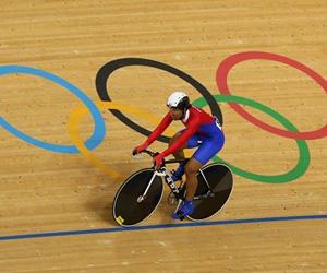 Lisandra Guerra, ciclista cubana en londres 2012. Foto Cubadebate