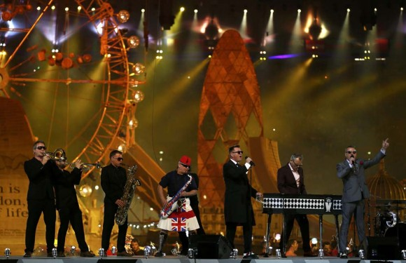 Ceremonia de cierre JJOO Londres 2012