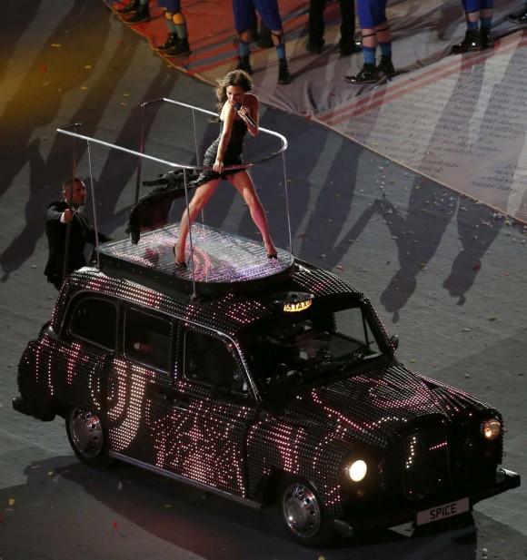 La cantante Victoria Beckham, una de las Spice Girls.