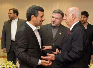 Presidente iraní recibió a Machado Ventura en Teherán