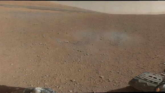 Imagen de Marte tomada por Curiosity. Foto: EFE/ NASA