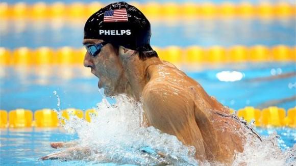 Michael Phelps ganó su 16ta medalla de oro olímpica al triunfar en los 200 metros combinados
