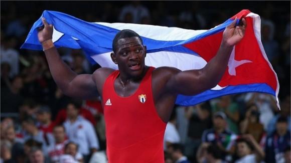 Mijaín López Núñez, Cuba, es ya toda una leyenda de la Lucha Grecorromana, al conquistar su segundo Oro Olímpico en la máxima división