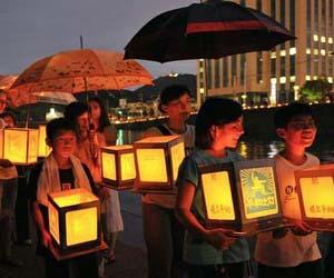 Japoneses conmemoran aniversario de la tragedia