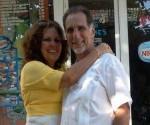 Olga Salanueva y René González