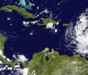 Isaac se acerca al Sur del Oriente de Cuba