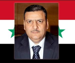Riyad Hija,b primer ministro sirio
