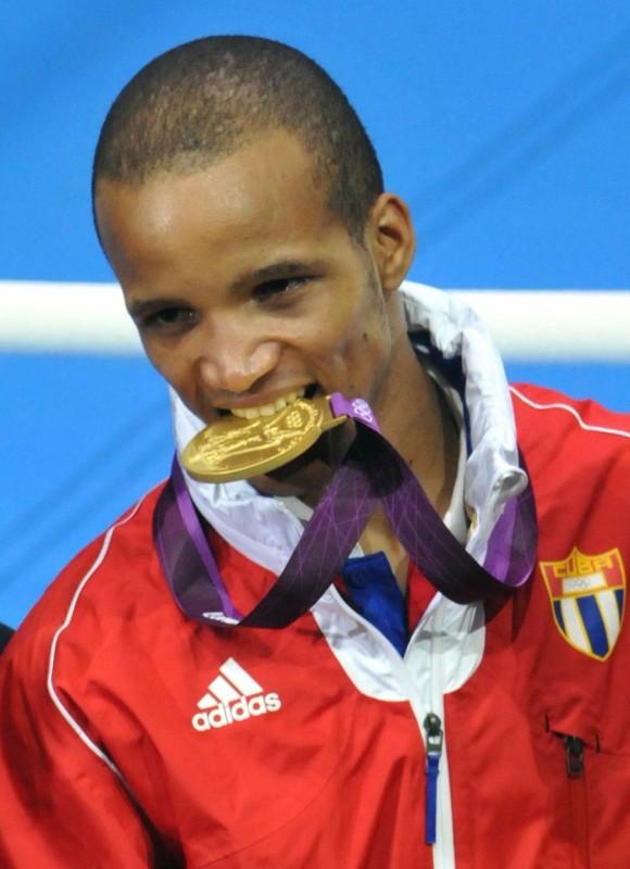 Oro para Cuba con la victoria de Roniel Iglesias. Foto: Ricardo López Hevia.