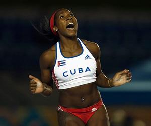 Pertiguista Yarisley Silva. Foto Cubadebate
