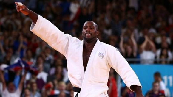 Teddy Rine, de Francia, el gran ganador de los hombre en la máxima división del judo