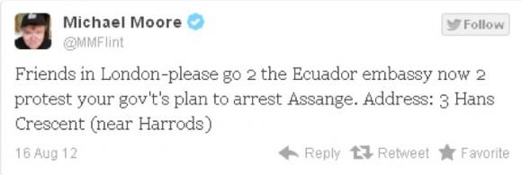 Twitter Julian Assange