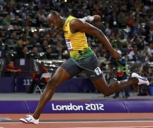 Gana Usain Bolt la Liga de Diamante de Londres con 9.85 en 100 metros