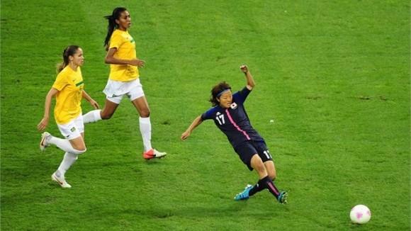 Yuki Ogimi anota para Japón en la victoria contra Brasil