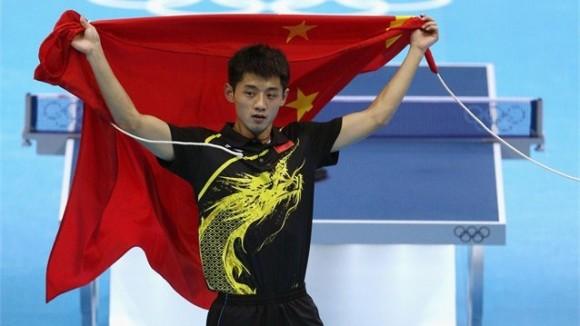 El chino Zhang Jike se proclamó Campeón Olímpico en el individual masculino del Tenis de Mesa