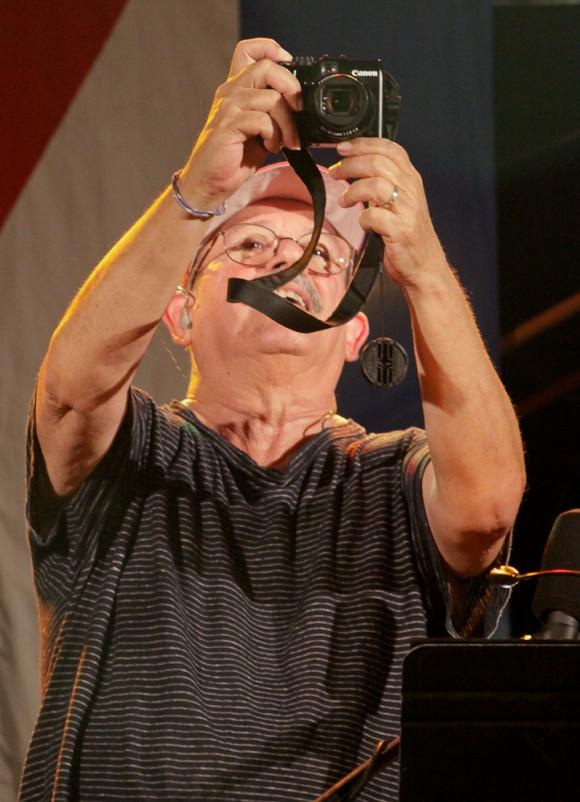 Silvio en concierto en el Cotorro