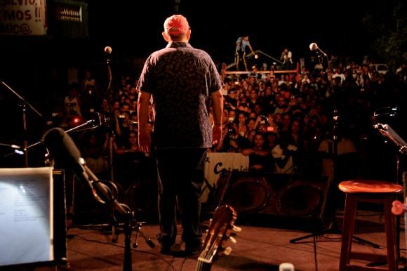Silvio presenta concierto
