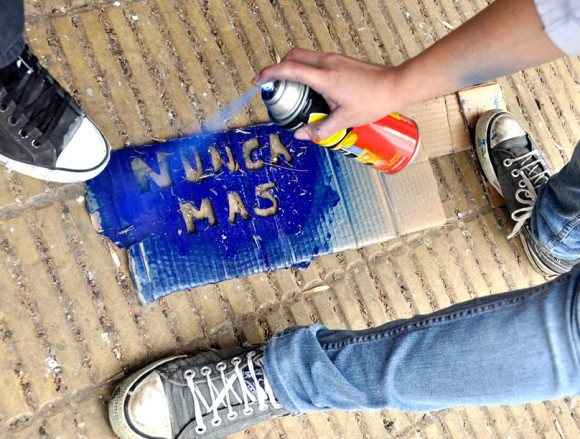 Marcha por La noche de los lápices /Foto: Kaloian Santos Cabrera