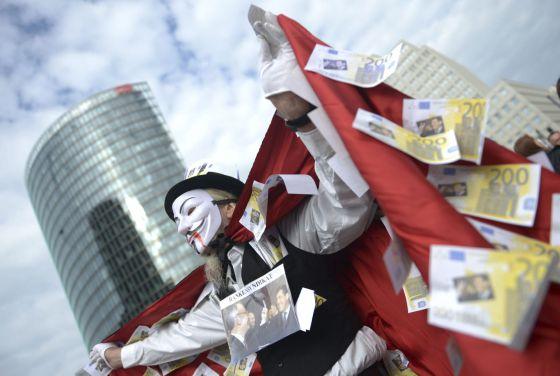 Manifestación en Alemania. 29 de septiembre de 2012