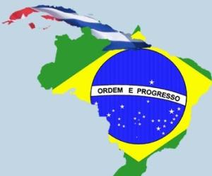 De visita en Cuba estudiantes brasileños de medicina