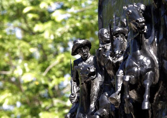 Detalle del monumento a Ignacio Agramonte. Foto: Ismael Francisco/Cubadebate.