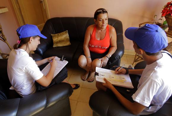 Comenzo el Censo de Población y Viviendas. Cuba-2012. Foto: Ismael Francisco/Cubadebate.
